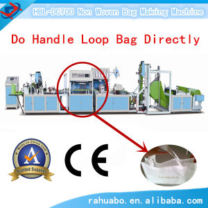 Huabo Hbl-DC700 Automatic Non Woven Fabric Bag Making Machinery pictures & photos