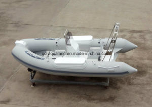 Aqualand 14feet Rigid Inflatable Rescue Boat/Rib Fishing Boat (RIB420B) pictures & photos