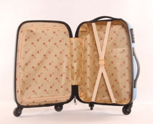 3PCS Hard Luggage Trolley Case ABS Luggage Bag pictures & photos