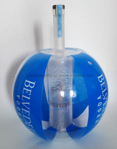 Promotion PVC Inflatable Beach Ball with Wine Bottle Inside pictures & photos