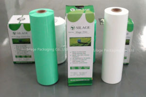 Silage Stretch Wrap Film, Width 250, 500, 750mm, Thickness 25um, White, Black and Green Colour for Corn, Grass and Alfalfa Silage pictures & photos