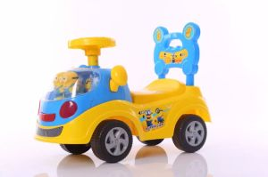 China Manufacturer Cheap Kids Slide Car Baby Swing Toy Car Ht-228 pictures & photos