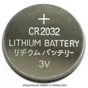 3V Lithium CMOS Cr2032 Battery pictures & photos