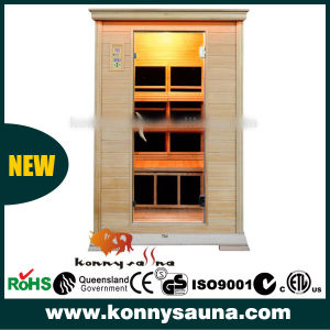 2 People Far Infrared Carbon Heater Sauna Room Cabin (KL-2SQ)