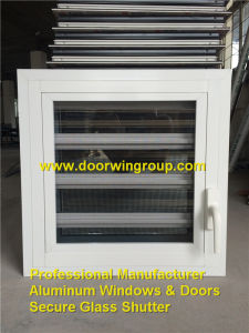 Aluminum Glass Louver Window with Opening Handles pictures & photos