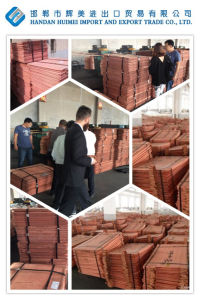 99.99% Grade a Electrolytic Copper Cathodes, Factory Supply Directly pictures & photos