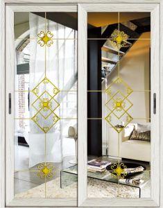 Aluminium +Glass Sliding Door Interior Door Customize New Design pictures & photos