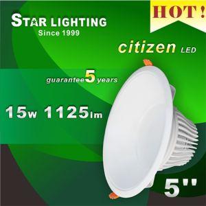 30000hrs Lifetime Ce RoHS 15W Aluminum COB LED Downlight pictures & photos