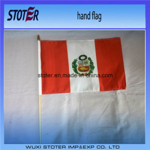 Promotional Custom Hand Held Waving Flag pictures & photos