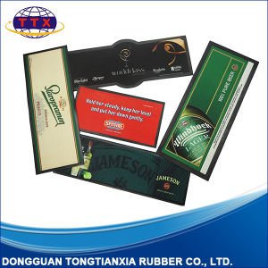 High Quality Various Size Printing Promotional Rubber Bar Counter Mat pictures & photos
