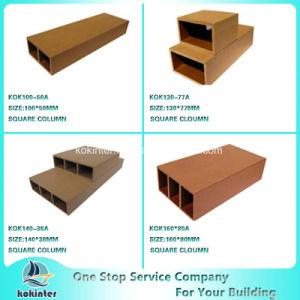 WPC Wood Plastic Composite Column for Pavilion Railing Fence pictures & photos
