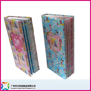 Hardcover Fancy Paper Photo Album as Gift pictures & photos
