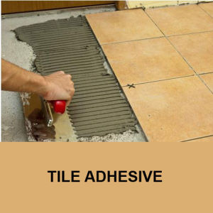 Cementitious Tile Adhesives for Wall Floor Construction Chemical Additive HPMC pictures & photos