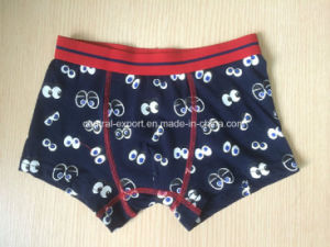 Aop Cute Cotton Children Underwear Boy Boxer Brief pictures & photos