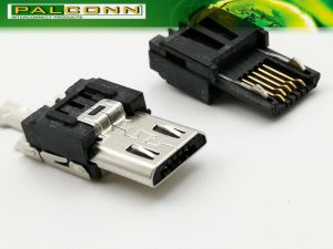 Large Current Micro USB Plug pictures & photos