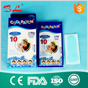 OEM Manufacturer Menthol Cooling Gel Patch for Fever pictures & photos