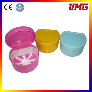 Colorful Plastic Denture Box U9023 pictures & photos