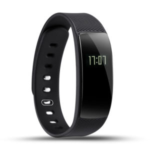 QS80 Wristband Support Calories Distance Track Gesture Control Heart Rate Bracelet IP67 Waterproof Smart Band pictures & photos