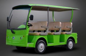Dongfeng Electric 8 Seater Sightseeing Car for Sale pictures & photos