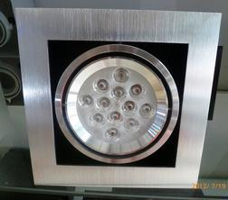 LED Bean Container Lamp Plane Brushed Silver Singlehead (9*1W lampwick) 3000k \6500k
