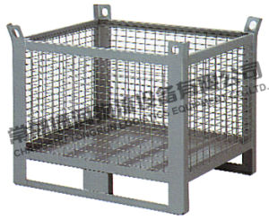 Foldable Steel Mesh Container (SWK8017) pictures & photos