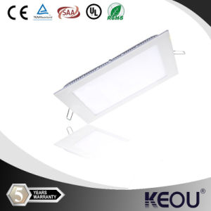 Office Decoration Square 6watt Dimmable LED 120V Panel Light pictures & photos