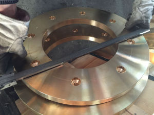 Tensile Brass Flanges, ASTM B505 C86500 Flanges pictures & photos