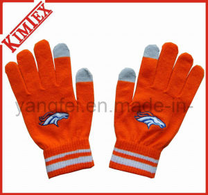 Acrylic Knitted Magic Screen Touch Glove for Promotion pictures & photos