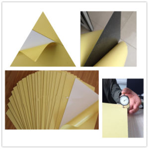 Photobook Adhesive Rigid PVC Sheet, Photo Album Inner Sheet pictures & photos