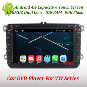 Android 4.4 Car DVD Player for VW Sagitar Caddy Polo Golf Jetta Rabbit Tiguan Cc