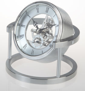 Desk Top Swivel Alarm Clock pictures & photos