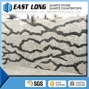Wholesale Grey Artificial Quartz Stone Slab/ Marble Color Quartz Stone pictures & photos