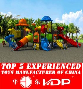 Huadong Play Equipment Plastic Playground Equipment (HD14-077A) pictures & photos