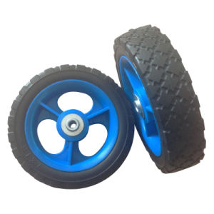 "7 Inch 7""X1.5"" Semi Pneumatic Rubber Wheel pictures & photos"