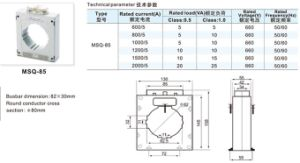 CT/1 CT/5 2000/1A High Quality Encapsulated Current Transformer (MSQ-80) pictures & photos