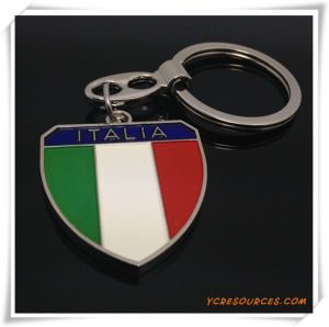 Italian Flag Keychain for Promotion pictures & photos