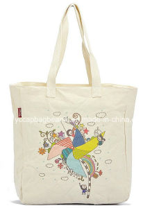 Promotional Cotton Shopping Tote Canvas Bag pictures & photos
