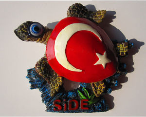 OEM/ODM 3D Turtle Resin Fridge Magnet for Tourist Souvenir pictures & photos
