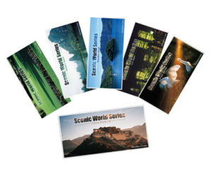 Gloss Landscape Flat Sheet Postcard Printing Service