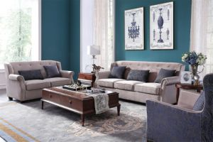 Cheap Fabric Sofa Promotion Sofa pictures & photos