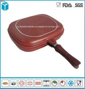 Happycall Double Sided Pan Pressured Frying Pan for Fish Cooking