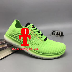 Men′s Sneakers Sole Air Cushion Nanotechnology Plastic Material Damping Running Sports Shoes 40-47 Yards pictures & photos