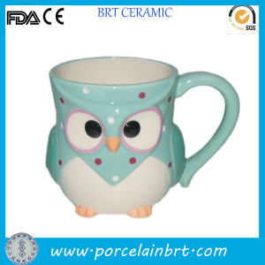 Children Favorite Cartoon Owl Design Promotion Mug pictures & photos
