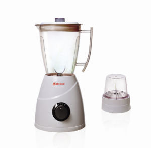 Home Use Plastic Jar 2 Speeds Electric 2 in 1 Fruit Blender pictures & photos