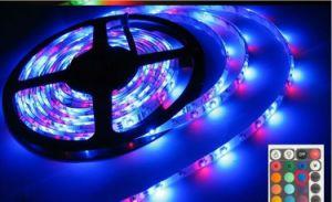 60PCS/M 5050SMD RGB LED Flexible Strip Light DC12V pictures & photos
