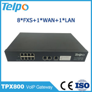 Telepower ATA Support Auto Attendant 8 Port FXS PSTN Gateway VoIP pictures & photos