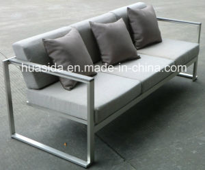 4-PCS Outdoor Stainless Steel Waterproof Sofa Set pictures & photos