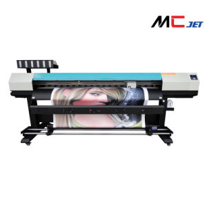 1.9m Large Format Eco Solvent Digital Printer Machine with Epson Dx10 for Banner pictures & photos