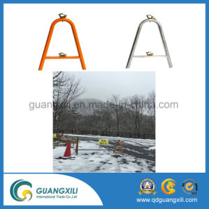 Thickness 1.2 Galvanized Barricade Base with U Type pictures & photos