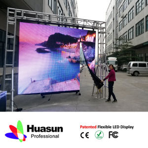 High Quality P16 LED Screen Curtain pictures & photos